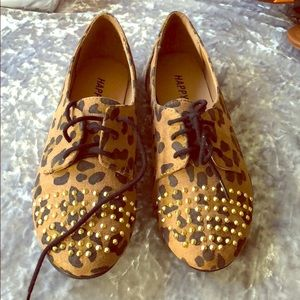 Child shoes with print